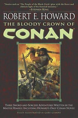 The Bloody Crown of Conan by Robert E. Howard (English) Paperback Book Free Ship
