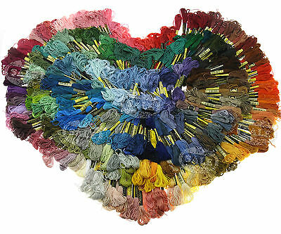 447 Colors Cotton Embroidery Thread Cross Stitch Floss Sewing Skeins