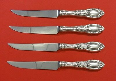 King Richard by Towle Sterling Silver Steak Knife Set 4pc HHWS  Custom Made