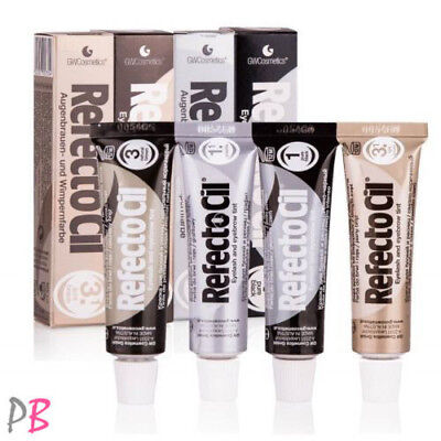 RefectoCil GEL HENNA Black Brown TINT for Eyebrows and Eyelashes Eyebrow Shade