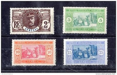 Senegal 1906/14 Collection of 4 Mint MNH X1648
