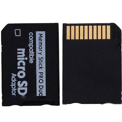 Micro SD SDHC TF to Memory Stick MS Pro Duo PSP Adapter Converter Card Fashion