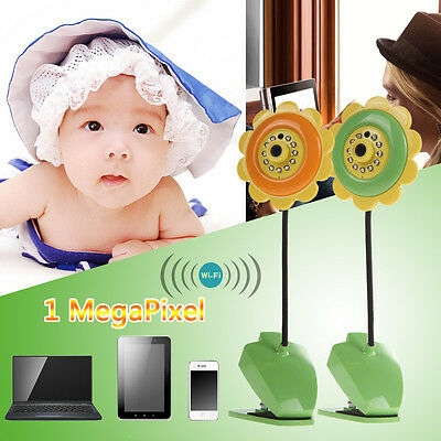 WIFI Wireless Night Vision Camera Baby Monitor Security Audio Video 100Megapixel