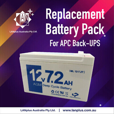 SunStonePower APC Replacement Battery Pack RBC40 UPS SC420, SP500DR, 12V 7AH