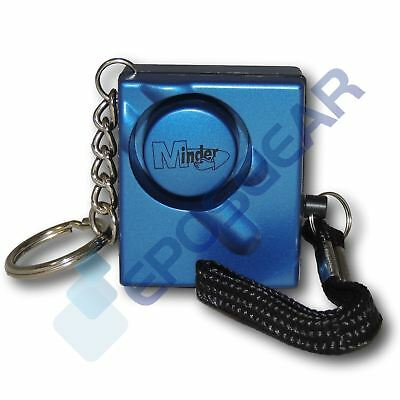 Blue 140db Minder Personal Panic Rape Attack Safety Keyring Alarm
