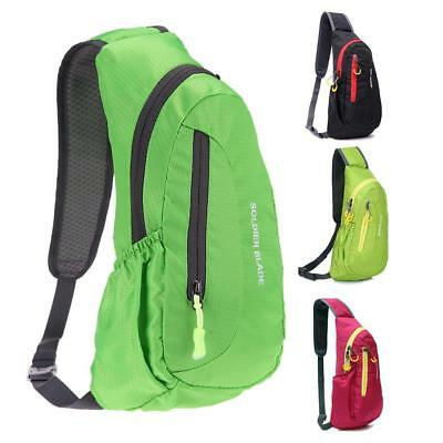 Waterproof Outdoor Sports Hiking Camping Backpack Travel Chest Shoulder Bag