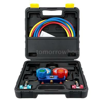 Auto A/C Manifold Gauge Set R-134a Car Air Conditioner with Hose Coupler R9B2