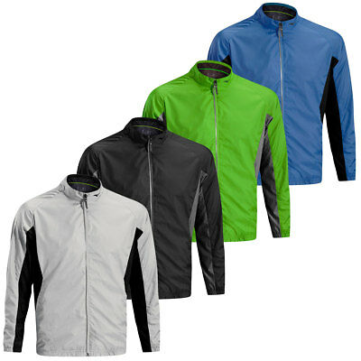 Mizuno Golf 2016 Mens Windproof Jacket Full Zip Lightweight Wind Top