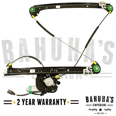 Bmw X5 E53 Suv 2000-2006 Front Right Drivers Side Window Regulator & 2 Pin Motor