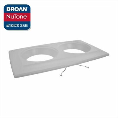 Broan Nutone S89260000 9422 Bulb Heater Grille Assembly White Genuine