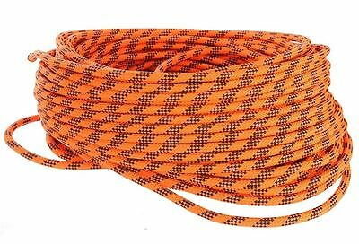50Mtrs x 11mm Static Kernmantle ROPE Response Rescue Climbing Abseiling Arborist