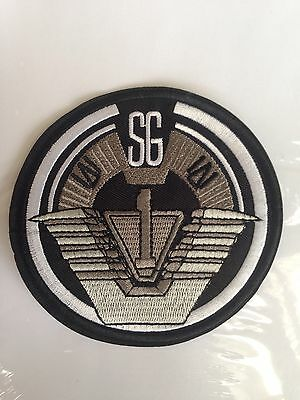 STARGATE CREW TEAM PATCH 👽 SG1 Sci Fi TV Movie Cosplay Costume LARGE 4 inch 🚀