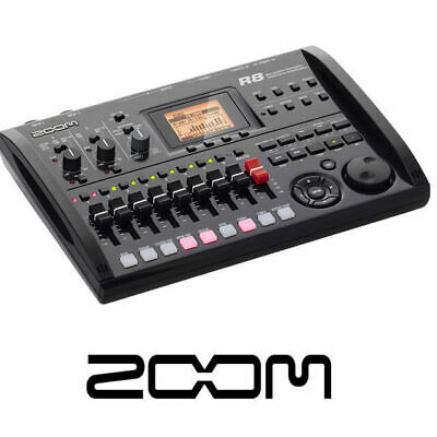 Zoom R8 8 track digital Multi Track portable Recorder with Cubase and SD card
