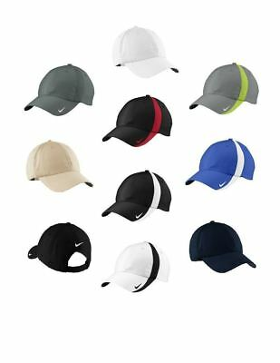 b48a4592 Nike Golf Sphere Dry Low Profile Adjustable Cap Hat 247077 Unstructured