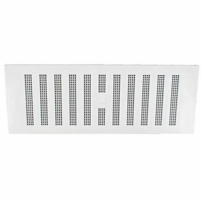 """Securit S3262 White Plastic Hit And Miss Air Vent Ventilation Cover 9"""" X 9"""""""
