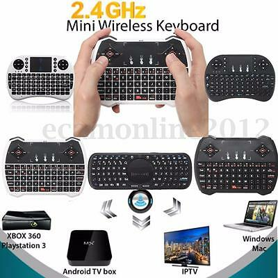 2.4G Mini Fly Air Mouse ratón teclado Touchpad Para Android PC Smart TV Box