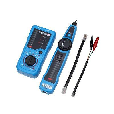 FWT11 Network LAN Cable Tester RJ45 RJ11 Wire Tracker Tracer Line Finder P1B3