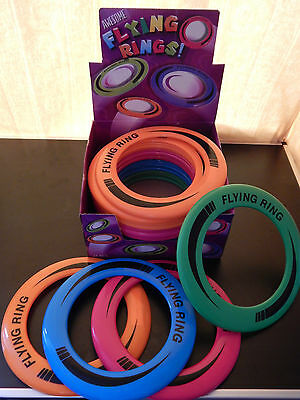 24 Flying Rings - Wholesale Fun Outdoor Summer! Frisbee Disc Type Toys Party Bag