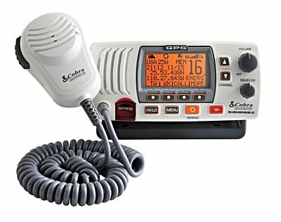 COBRA MARINE F77-EU White Fixed VHF Radio