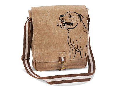 Canvas Messenger Hunderasse: Staffordshire Bull Terrier