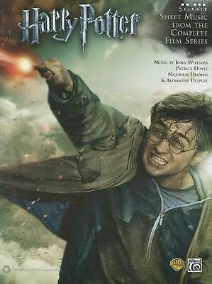 Harry Potter: Sheet Music from the Complete Film Series (English) Paperback Book