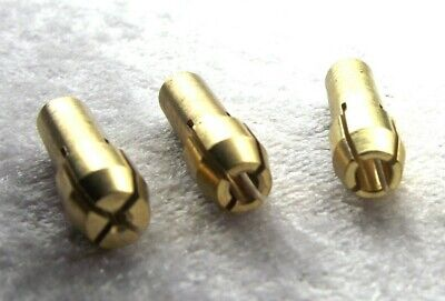 From OZ Quality 4pcs Brass Collet Bit Replacement for Die Grinder + FREE POST!