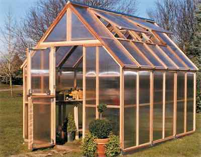 Sunshine GardenHouse Mt. Rainier 8X12 Greenhouse [GKP812]