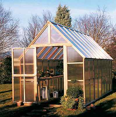 Sunshine GardenHouse Mt. Rainier 8X16 Greenhouse [GKP816]
