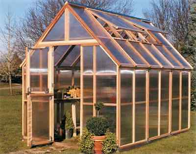 Sunshine GardenHouse Mt. Rainier 8X8 Greenhouse [GKP88]