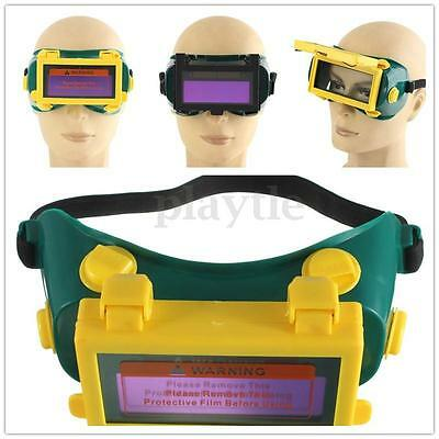 Pro Solar Auto Darkening Welding Mask Helmet Eyes Goggle Welder Glasses Arc