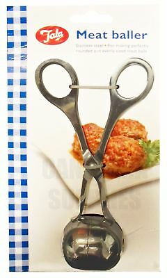 Tala Stainless Steel Kitchen Meat Ball Meatball Baller Scoop