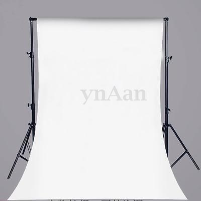 5x7FT White Backdrop Studio Solid Color Vinyl Photography Photo Background Props