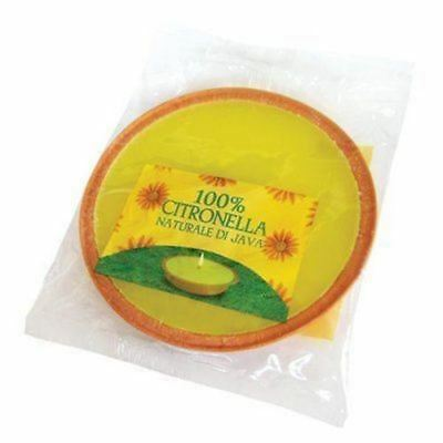 Large Citronella Party Size Fragranced Garden Candle  - New