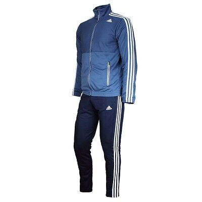 Mens Adidas Performance Full Tracksuit TS Train Top And Bottoms Size S-XXL NEW