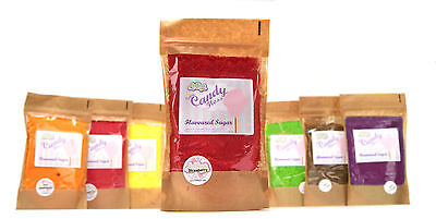 CANDY FLOSS SUGAR READY FOR USE IN YOUR MACHINE NEW FLAVOURS 250g PACK
