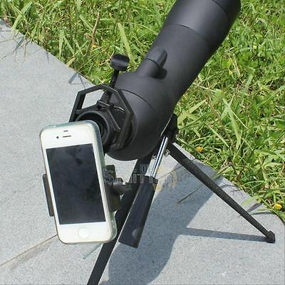 Universal Spotting Scope Astronomical Telescope Stand Mount for Mobile Cellphone