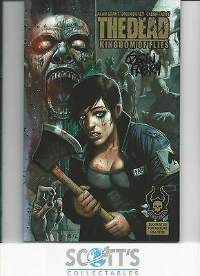 Dead - Kingdom Of Flies Graphic Novel NM! Signed by Fabry!