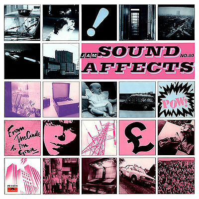 """THE JAM ..""""Sound Affects""""..Retro Album Cover Poster Various Sizes"""