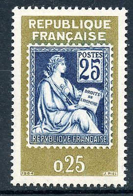 Stamp / Timbre  Neuf Luxe °° N° 1416 ** Philatec 1964 / Type Mouchon