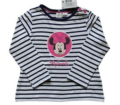 Original Disney Minnie Mouse T-Shirt Top for Kid's Girl's Sizes 2 - 24 Months
