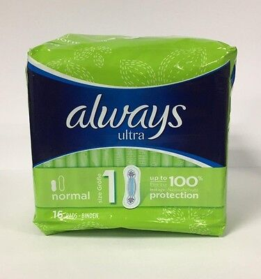 Always Ultra Normal No Wings 16 Pads