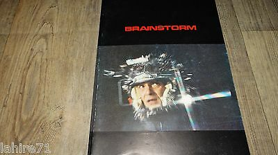 BRAINSTORM ! c walken dossier presse scenario cinema fantastique