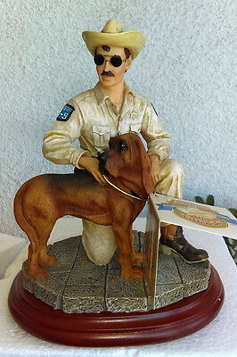 "Vanmark Legends of the Law ""Heroic Hound"" Sculpture Edition #1/0373 TH86516 1998"