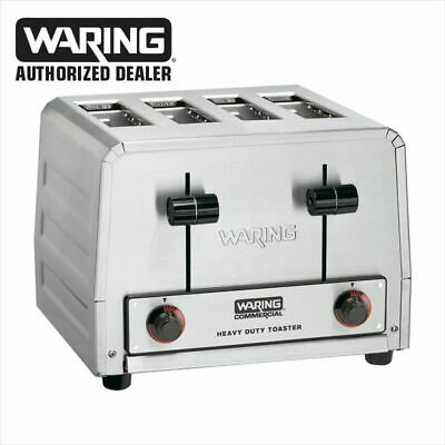Waring WCT825B Commercial Heavy Duty Bagel Toaster 208V NSF