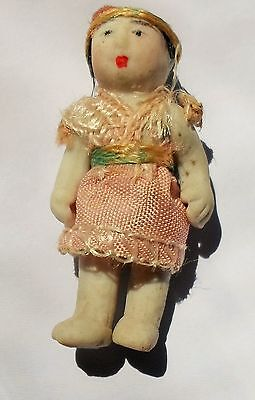 Antique/Vintage Miniature Jointed (Articulated) Bisque Doll 1