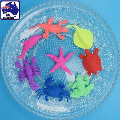 40pcs Water Growing Toy Expansion Toys Play Learn Kid Sea Animals Dinosaur GBNXP