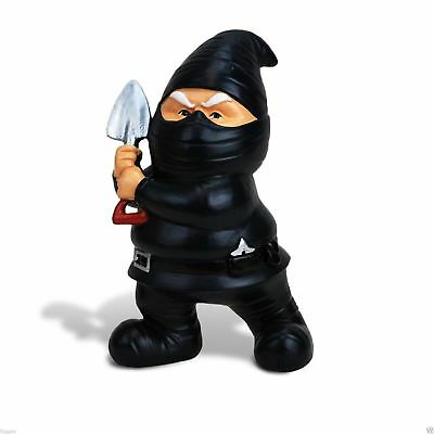 The Ninja Garden Gnome by BigMouth Inc Garden or Indoor Gift  NEW