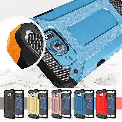Hybrid Rubber Shockproof Cover Rugged Case For Samsung Galaxy S6/S7 Edge/Note 5
