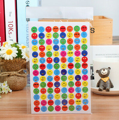 Wholesale NEW Praise Children School Teacher Smile Face 1120pcs Stickers Reward