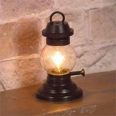Traditional Victorian Tilley Lamp for 1:12 Scale Dolls House 12V